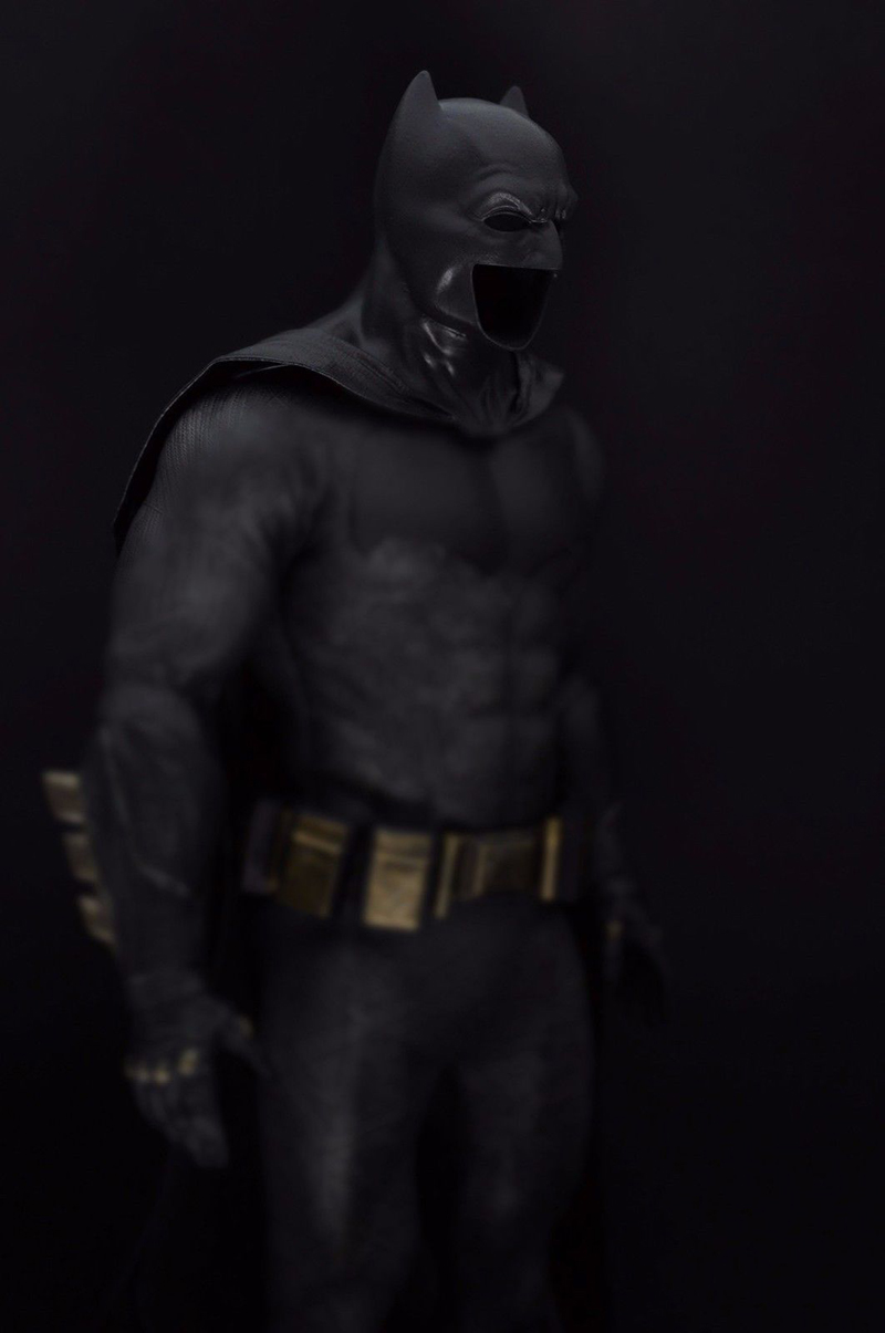 Collection 1/6 Batman Wearable Helmet Cloak For 12