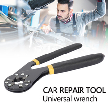 8 inch Universal wrench High carbon steel Hand Tool Car Repair Tools  Multitool Combination Wrench