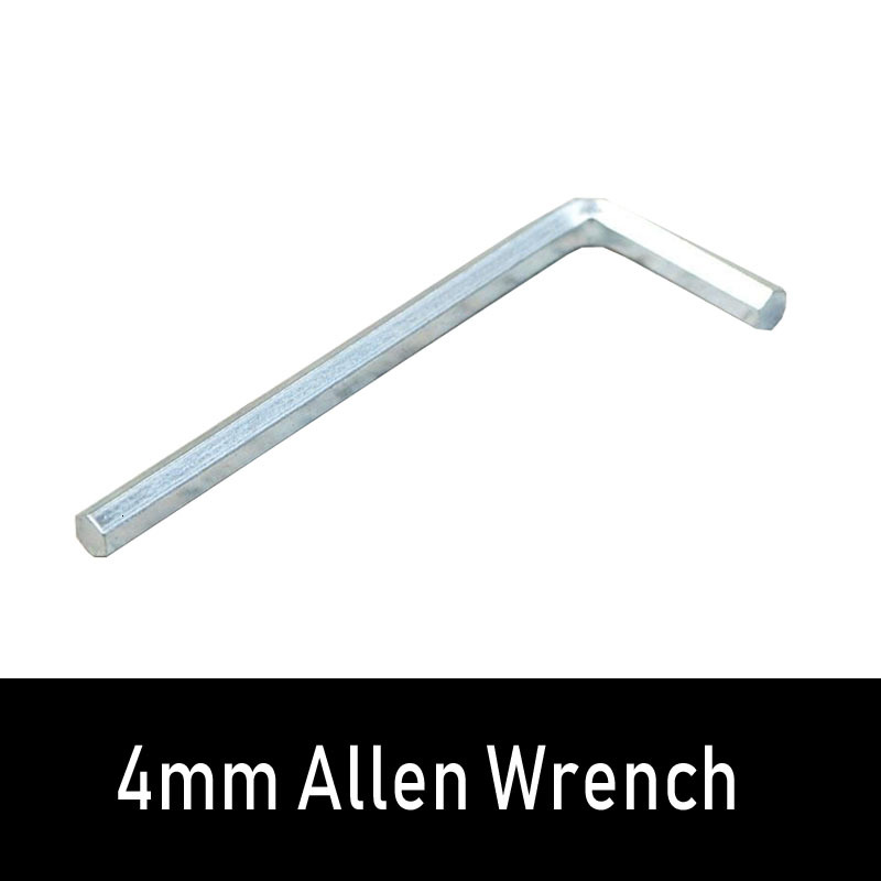 4mm Allen Wrench Roller Skating Accessories L-shaped Or With Handle Practical Roller Tool