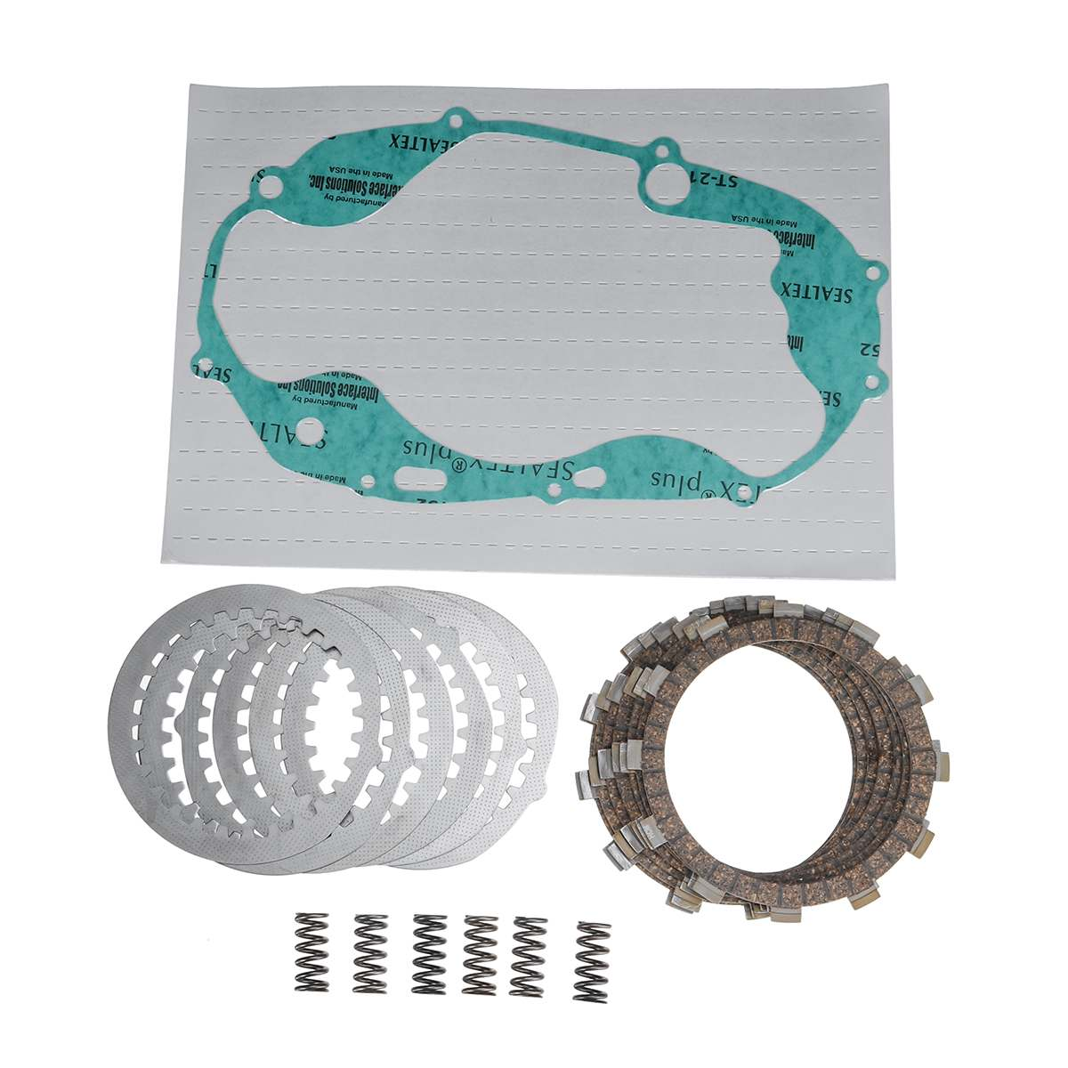 NEW 1Set Motorcycle Clutch Repair Kit Heavy Duty Springs & Cover Gasket FOR Yamaha BANSHEE YFZ350 19872006 image