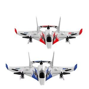 RC Plane 2.4G 6CH 450mm Wingspan EPO Brushless 6-axis Gyro Aerobatic Control RC Airplane RTF 3D/6G Mode Aircraft Toy