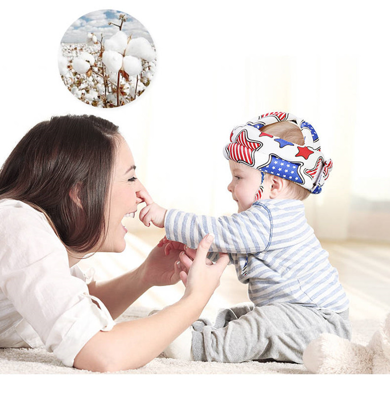 Baby Safety Helmet Anti-fall Pillow Protection Pad Baby Toddler Bumper Cap Child Safety Hat