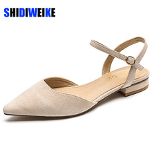 Women Flats Shoes Faux Suede Sexy Pointe