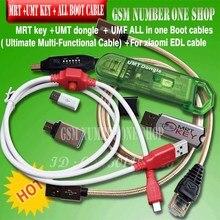 Novo original mrt dongle chave mrt 2 + umt dongle chave + umf tudo em 1 cabo (ultimate multi funcional cabo) + para xiaomi9008 bl