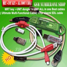 Original new MRT Dongle mrt key 2 + umt dongle key + UMF all in 1 cable ( Ultimate Multi Functional Cable ) + for XiaoMi9008 BL