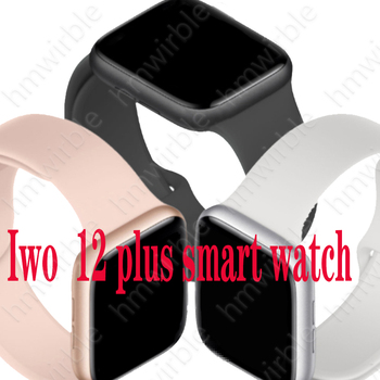 IWO12 Plus Smart Watch For Android IOS Phone 44mm Series 5 Watches Men Women Bluetooth Call Heart Rate Smartwatch PK IWO 12 W26 iwo12 plus smart watch for android ios phone 44mm series 5 watches men women bluetooth call heart rate smartwatch vs iwo 12 13