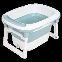 ChildKing baby bathtub child bath barrel baby tub folding bath barrel large bath barrel newborn swimming home