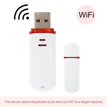 WiFi HID wtryskiwacz WHID USB Rubberducky WiFi HID narzędzie konwerter komunikacji mały kompaktowy przenośny i łatwy do przenoszenia tanie i dobre opinie YOUTHINK CN (pochodzenie) Brak Komunikacja Converter WiFi HID Tool WHID Injector WiFi HID Injector