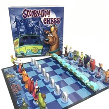 Chess-Set Board-Games Scooby-Doo Children's Nice-Gift for Friend Cartoon-Characters
