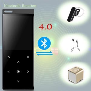 Image 2 - Nuovo C12 Bluetooth4.0 MP3 Giocatore di Musica con Altoparlante Metallo Dello Schermo di Tocco Di Alta Qualità Lossless Musica con Radio FM, Registratore