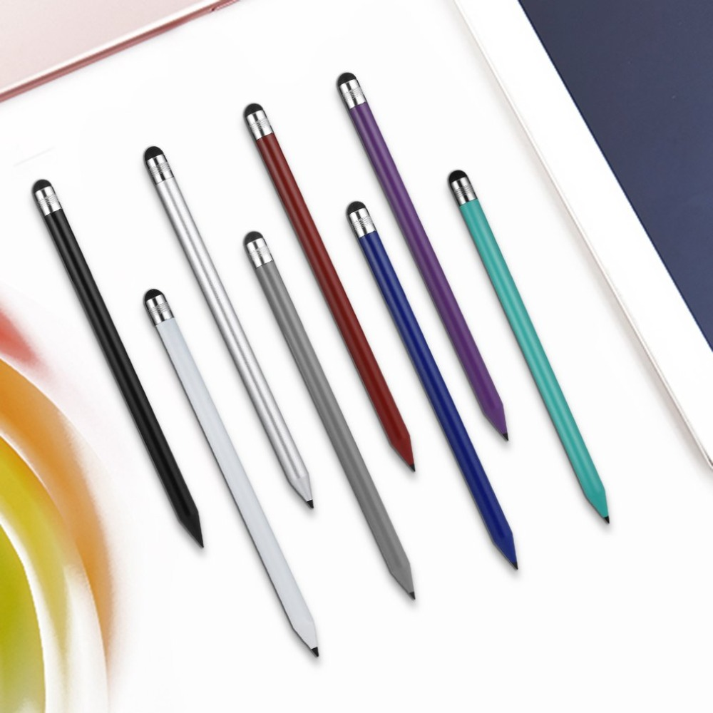 Plastic Pencil Round Stylus Capacitive Pen Touch Stylus Pencil Avoid Finger Fatigue On Any Mobile Phone Tablet