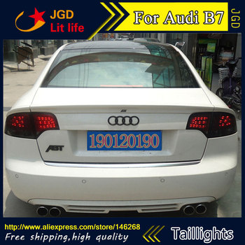 tail lights for Audi B7 taillights 2005-2008 LED taillight Tail Lamp rear trunk lamp cover Audi B7 taillight