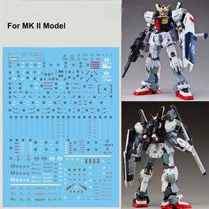 Image 2 - Autocollants de décalcomanies de haute qualité pour 1/144 Bandai RG Gundam MK II AEUG modèle, pâte à eau, bricolage