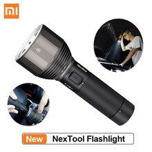 font b XIAOMI b font Youpin NexTool Rechargeable Flashlight 2000lm 380m 5 Modes IPX7 Waterproof