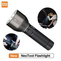 XIAOMI Youpin NexTool Rechargeable Flashlight 2000lm 380m 5 Modes IPX7 Waterproof LED light Type C Seaching Torch for Camping