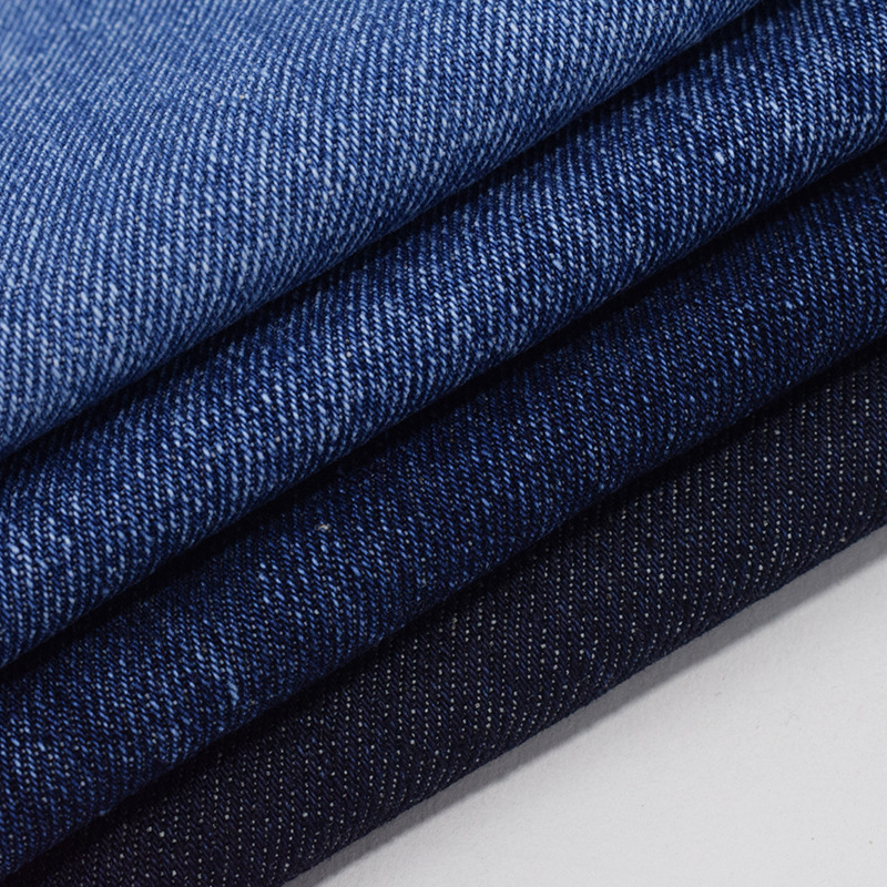 Twill woven 100% cotton thick denim fabric washed 13.5oz