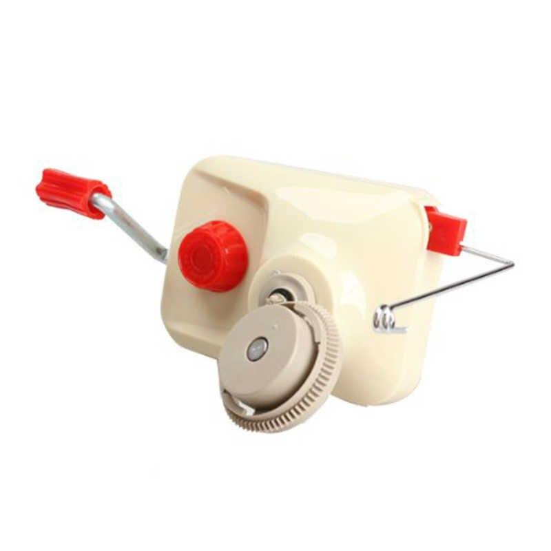 حار XD-المنزلية بكرة بكرة اليدوية ، اليد تعمل الغزل الألياف سلسلة الكرة ويندر حامل