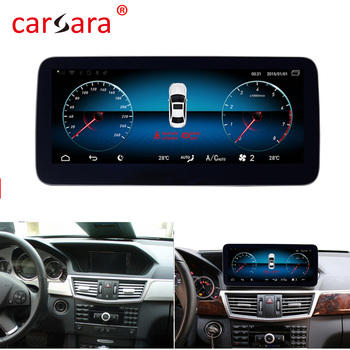 Carsara w212 android Multimedia Player for Mercede s E Klasse S212 radio 2010-2015 E200 Navigator Retrofit Comand Updating image