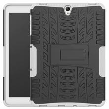 Защитный чехол с подставкой для Samsung Galaxy Tab S3 SM-T820 SM-T825 9,7 дюймов чехол противоударный силиконовый чехол TPU + PC Tablet Защитный чехол Funda + подставк...