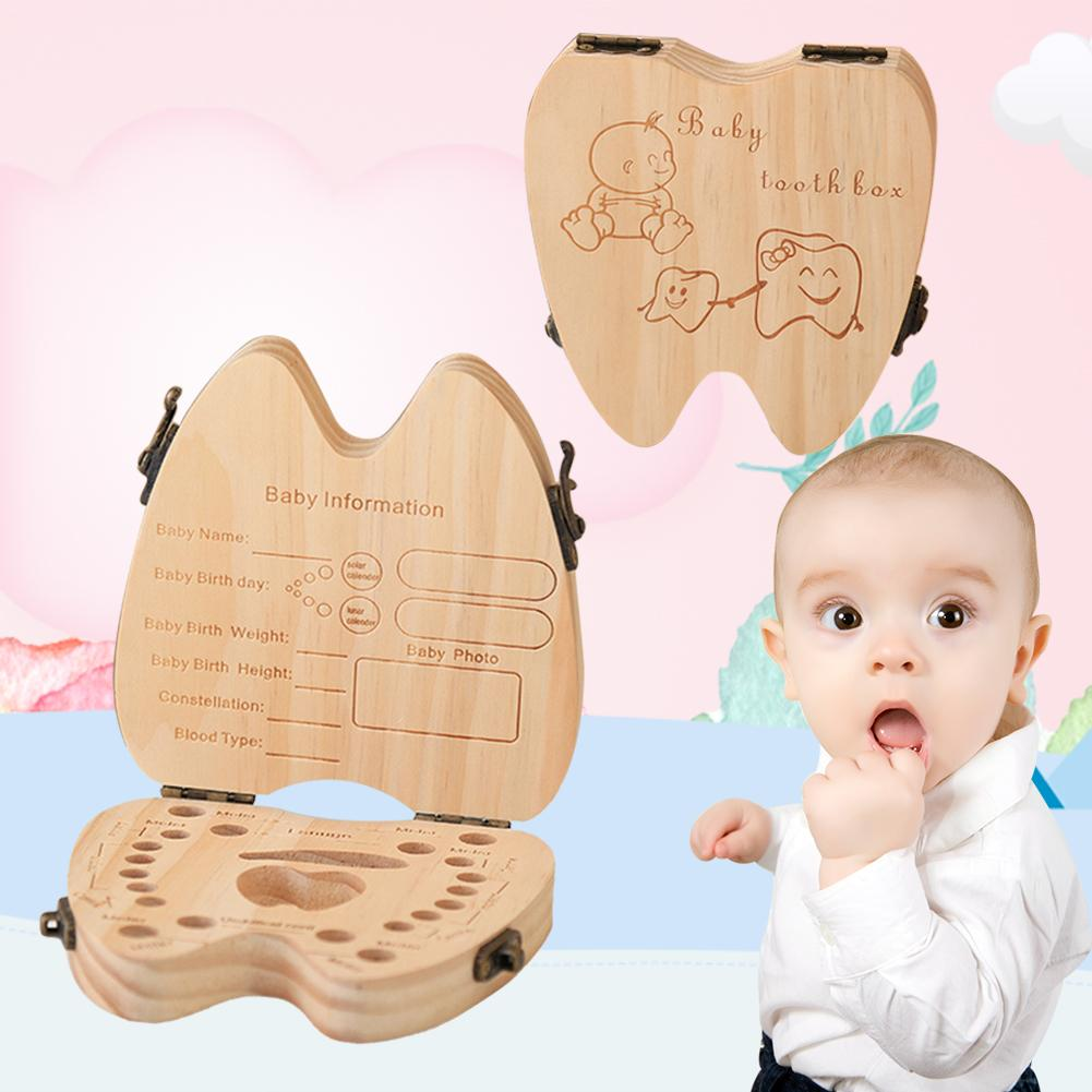 Baby Deciduous Box Baby Baby Hair Storage Room Baby Baby Hair Growth Commemorative Collection Box Children Oral Care