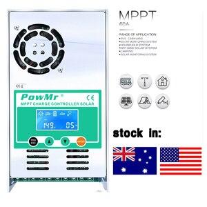 MPPT 50A Контроллер заряда солнечной батареи Контроллер 12 В 24 в 36 в 48 в авто подсветка ЖК солнечный регулятор заряда 50A для Max 160 в DC вход