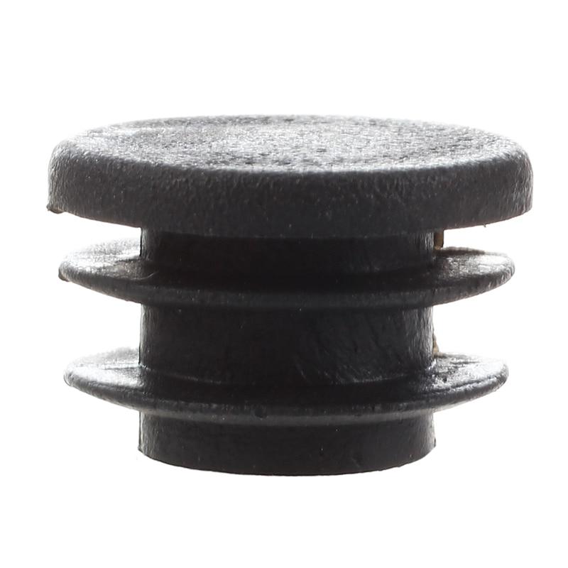 Chair Table Legs 22mm Diameter Plastic Cap Round Tube Insert 12 Pcs