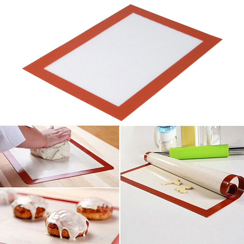 Baking Liner Pad Heat Resistant Silicone Kitchen Bakeware Non-stick Table Mat