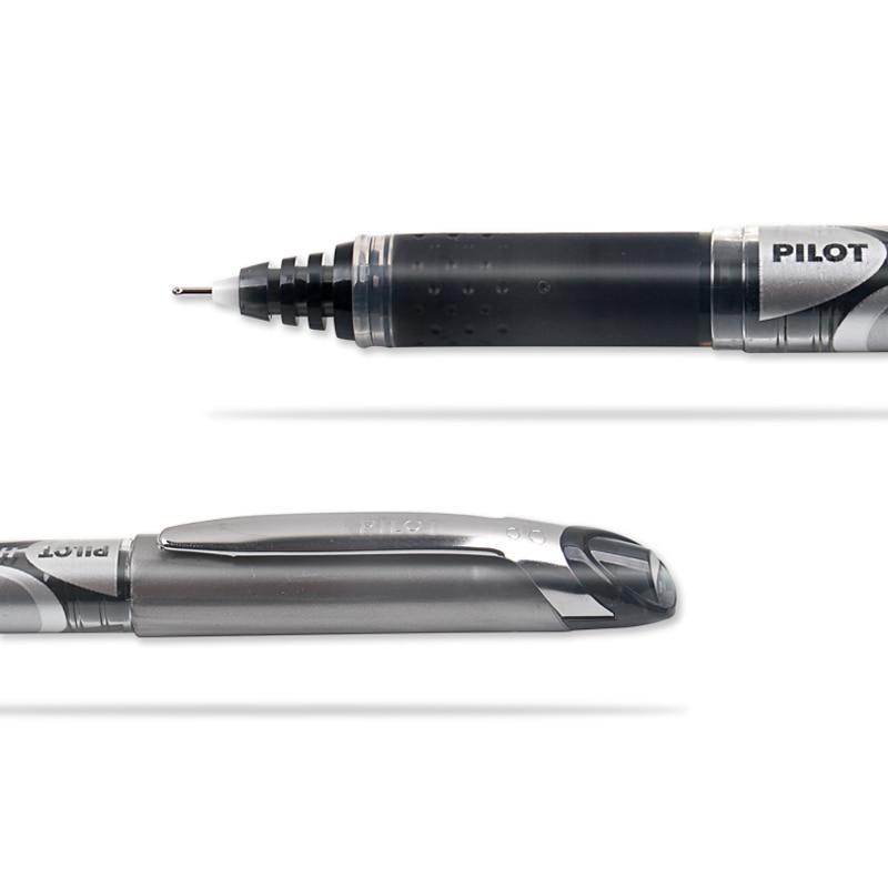3 sztuk japonia PILOT długopis żelowy BXGPN-V5 ulepszona wersja prosta płynna końcówka igłowa głowa długopis na bazie wody 0.5mm hi-tecpoint V5 Grip