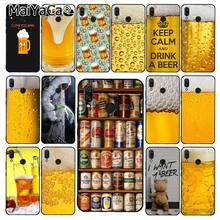 MaiYaCa Welt Biere Alkohol Sommer Blase Telefon Fall für Xiaomi Redmi8 4X 6A 9 8A Note8T 5Plus Note9 7 note8pro(China)