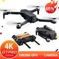 OTPRO мини Дрон 4K 5G камера дроны Профессиональный GPS RC вертолет бесщеточный двигатель складной RC Квадрокоптер 1080p игрушки подарок мальчик