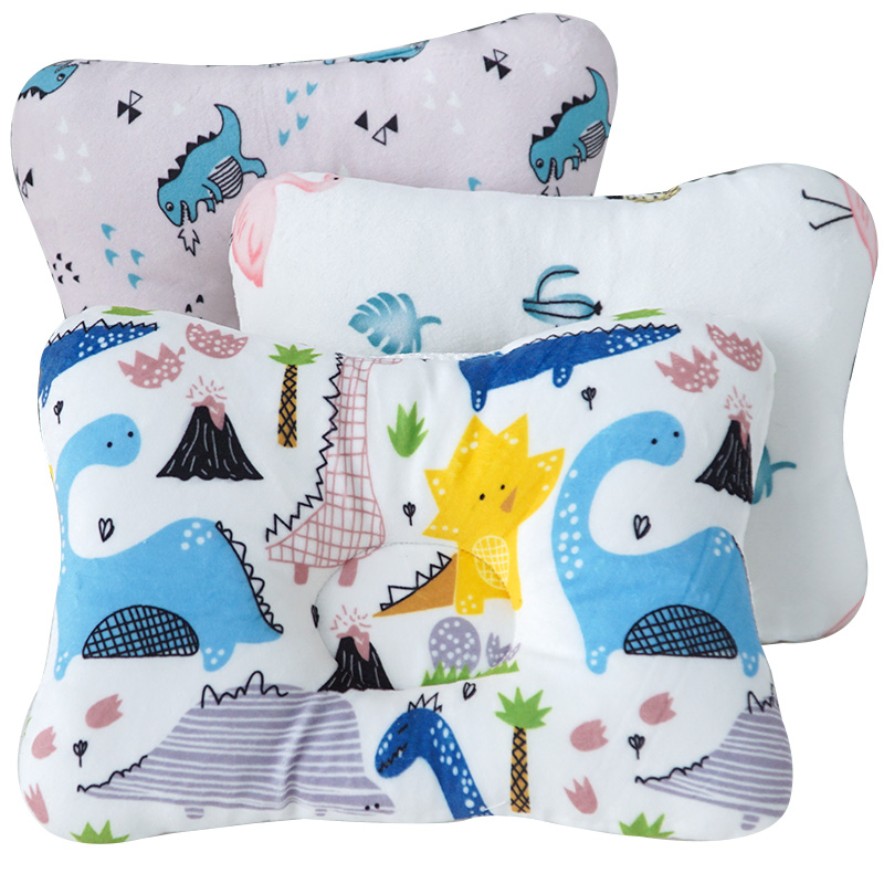 Fashionable Baby Pillow Nursing Accessories Baby Boys&Girls Head Neck Protection Cushion Breathable Baby Bed Room Decor Dropship