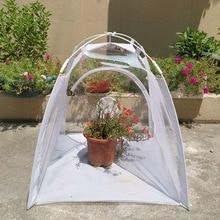 Garden-Set Greenhouses Shed PVC Warm Mini Plant-Insulation Folding Transparent Multifunctional