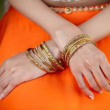 Традиционные индийские сари аксессуары для женщин девочек Индийские танцы вечерние сценические аксессуары красивый браслет