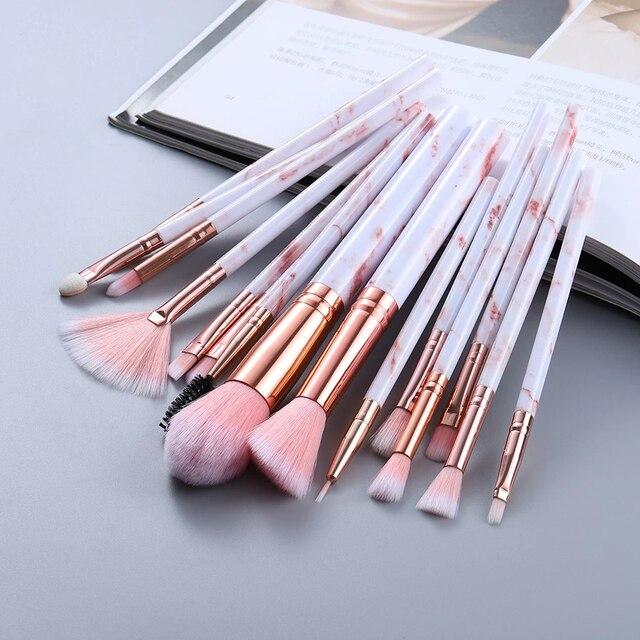 5/10/15pcs Makeup Brushes Sets Highlighter Eye Cosmetic Powder  2