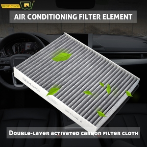 Car Accessories Pollen Cabin Air Conditioning Filter For Ford C-Max 2 Escape 3 Kuga 2 Focus 3 Lincoln MKC 2015 2016 2017 2018(China)