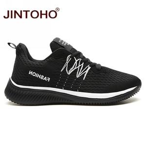 Image 2 - JINTOHO Big Size Unisex Sneakers Fashion Casual Shoes Breathable Shoes For Men Cheap Men Sneakers Band Male Shoes Men Shose