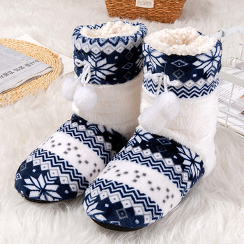 Winter Women Slippers Floral Home for women Non Slip Sturdy Sole Plush indoor 2020 Lovely Furry slippers