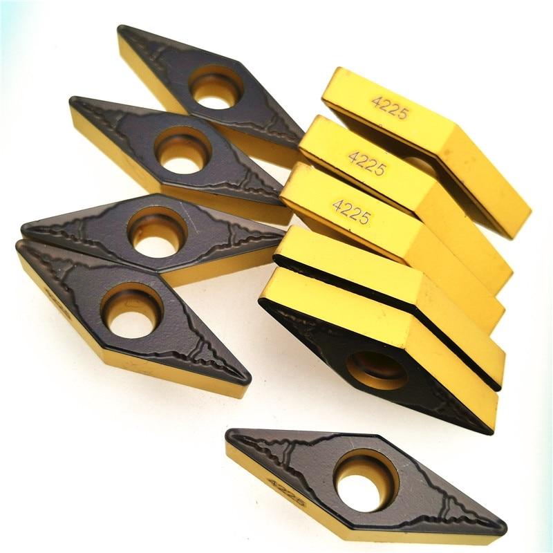 Turning Insert VBMT160404 PM 4225 Carbide Inserts CNC Turning Tools VBMT 160404 Lathe Tools Carbide Internal Turning Tool