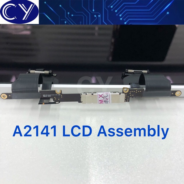 """Nuevo plata espacio gris 16LCD montaje A2141 para Macbook Retina 16 """"pantalla de visualización LCD completa Late 2019 EMC 3347"""