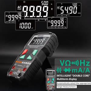 Digital Multimeter 9999 Counts AC DC Voltage Diode Freguency Smart Automatic Multimeter