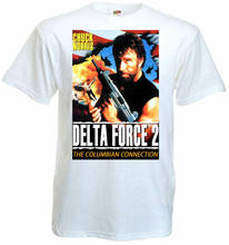 Camiseta Delta Force 2 Ver.2 póster de película Blanco todas las tallas S...5Xl(China)