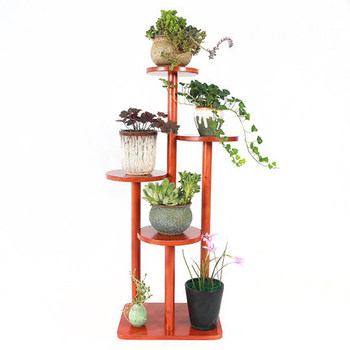 Flower Rack, Solid Wood Living Room, Balcony, Chinese Wood, European Style, Hanging Orchid, Meat, Green And Pineapple Shelf, Mul