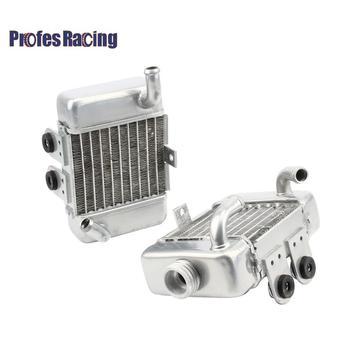 Dla 50 SX SXS Mini 49cc 50cc 50 aluminiowa chłodnica zestaw chłodzony wodą Mini krzyż motor terenowy pitbike motocross motocykl