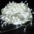 Waterdichte Safty Gebruikt Super Heldere & Energie Besparen 50m 500 LED geel String Fairy Lights 8 Modes Party Kerst tuin IP44