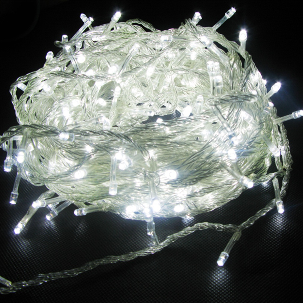 Waterproof Safty Used Super Bright & Energy Save 50m 500 LED Yellow String Fairy Lights 8 Modes Party Christmas Garden IP44