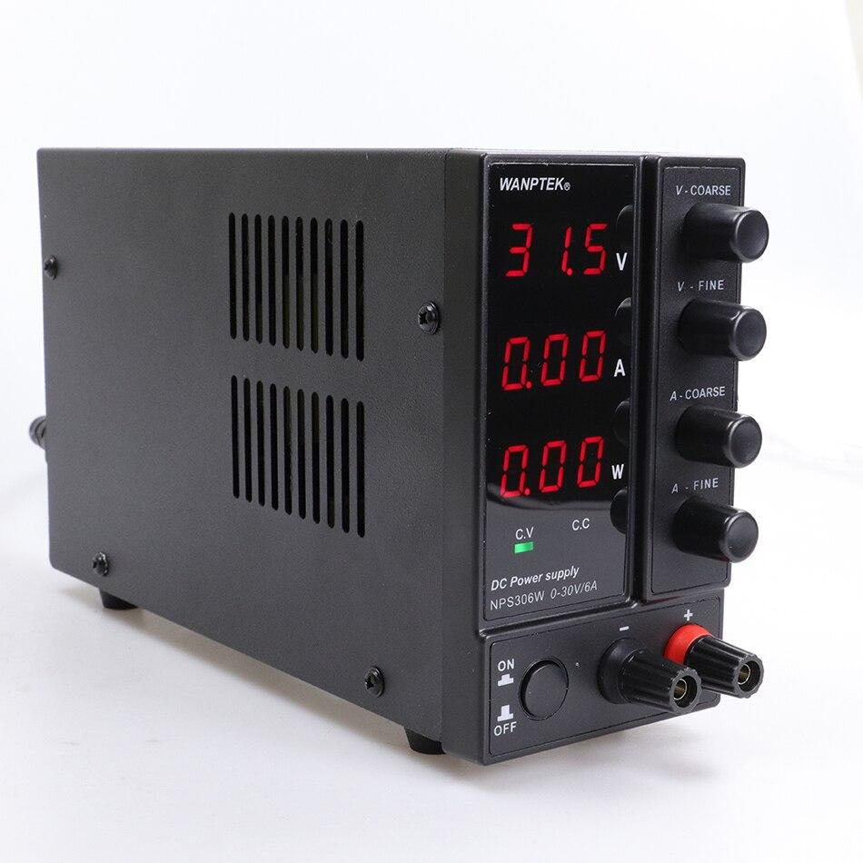 NPS306W/605W/3010W/1203W regulated laboratory DC switching power supply 30V/60V/120V 3A/5A/6A/10A/adjustable 0.1V/0.01A/0.01W-4