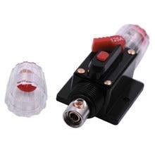 1PCS 20A 50A 60A 80A 150A 12V 24V Auto Camion Amplificatore Audio Circuit Breaker Fusibile Supporto Stereo amplificatore Refit Fusibile Adattatore