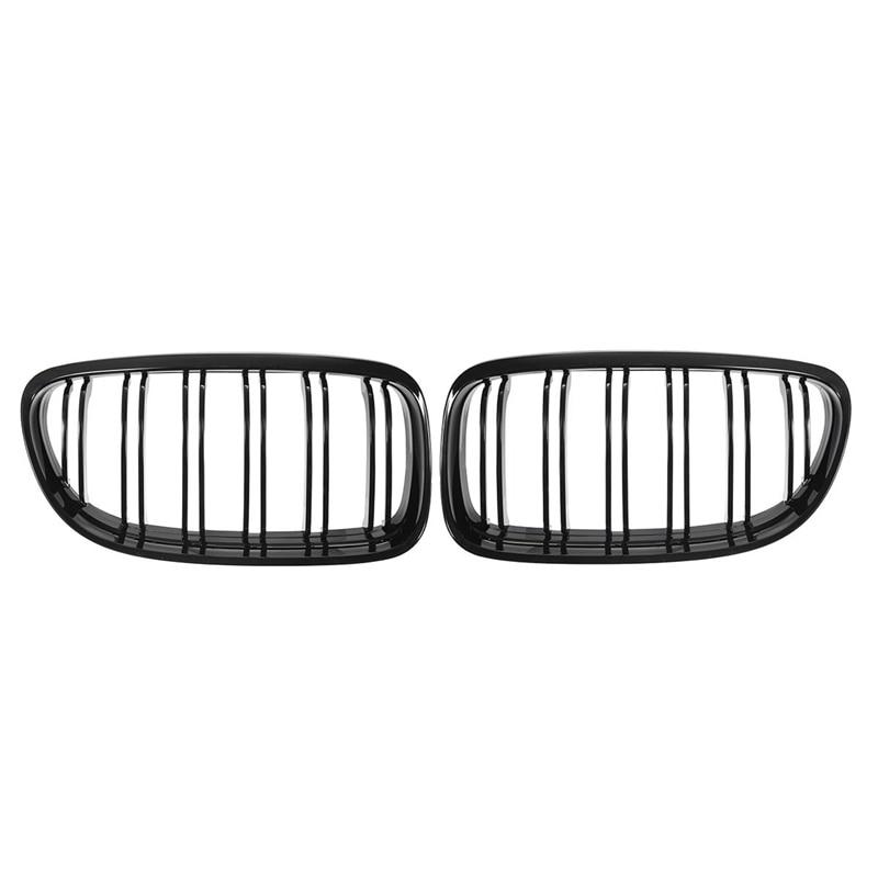 AL21 -1 пара Автомобильная передняя решетка глянцевая черная впускная решетка для BMW E90 LCI 3-Series Sedan/Wagon 2009 - 2011