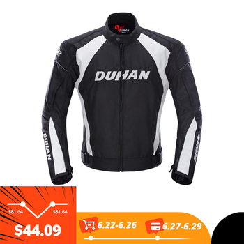 DUHAN Motorcycle Jackets Motocross Off-Road Racing Jacket Motorcycle Protection Moto Jacket Motorbike Windproof Protective Gear nerve motorcycle jacket waterproof brand racing suit off road cycling jersey motocross moto protecion windproof clothing for men