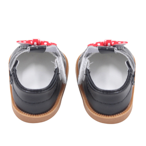 Image 4 - Cute Doll Shoes 7cm High quality Bow Cartoon Skull Pattern Mini Shoes For 18 Inch American And Baby New Bron Dolls Toy 1/3 BJD